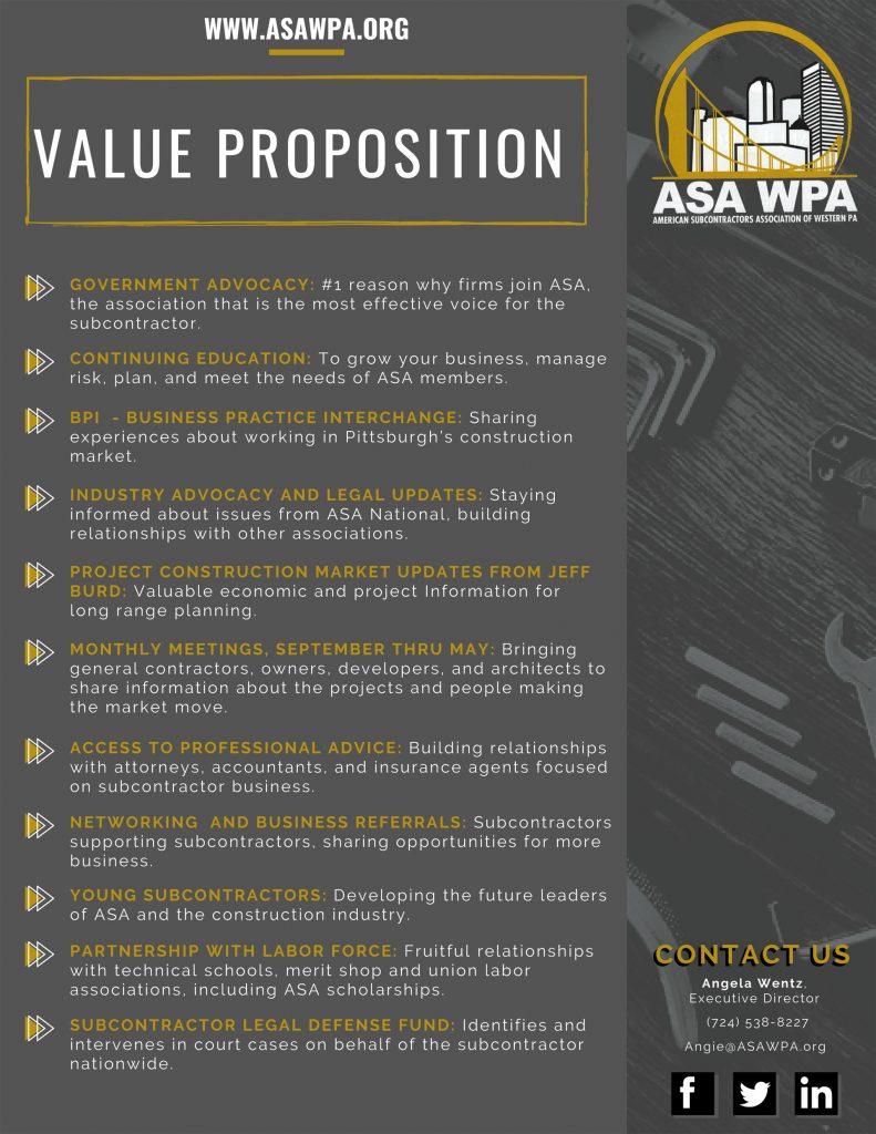 ASA Benefits